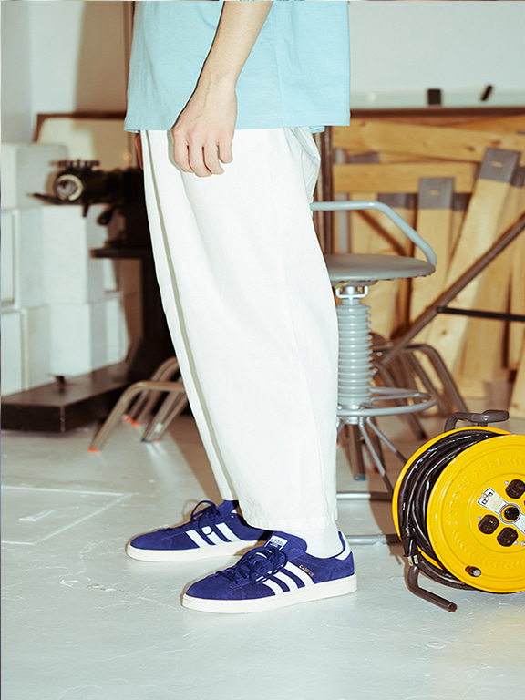 WIDE CHINO(OFF WHITE)